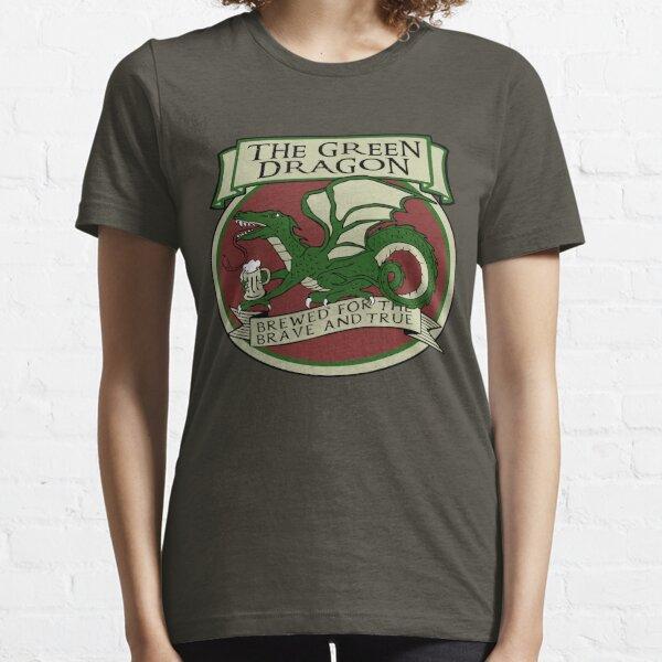 El dragón verde Camiseta esencial