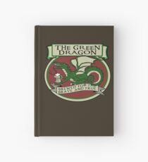 The Green Dragon Hardcover Journal