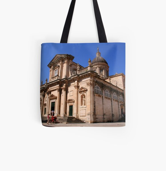 Dubrovnik Cathedral All Over Print Tote Bag
