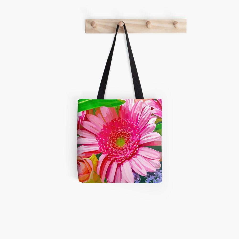 Floral Delight Tote Bag