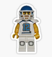 LEGO American Footballer Sticker
