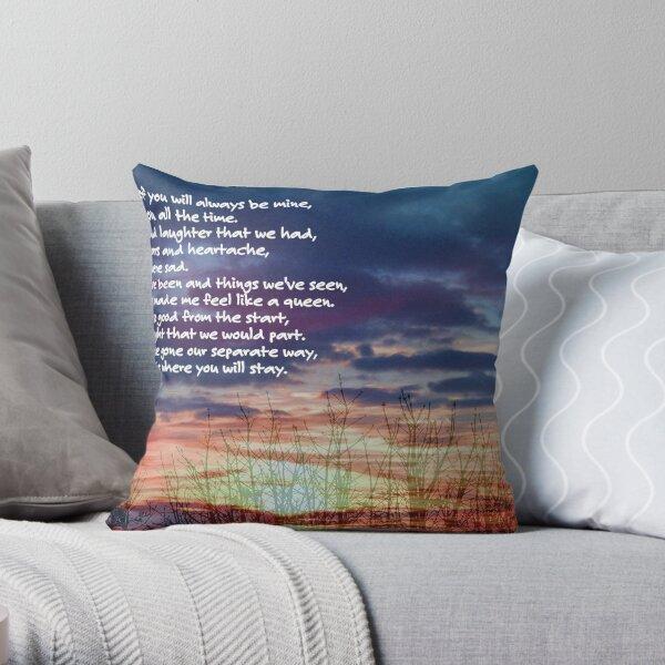 Memories of You ©  Throw Pillow
