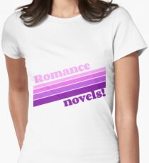 Romance Novels are Groovy Women's Fitted T-Shirt