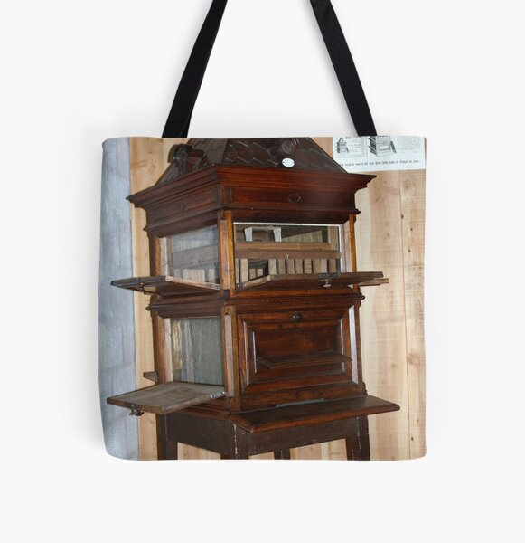 collectable Dadant Beehive All Over Print Tote Bag