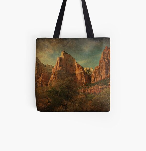 Court of the Patriarchs All Over Print Tote Bag