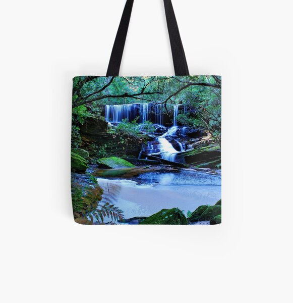 Somersby Falls All Over Print Tote Bag