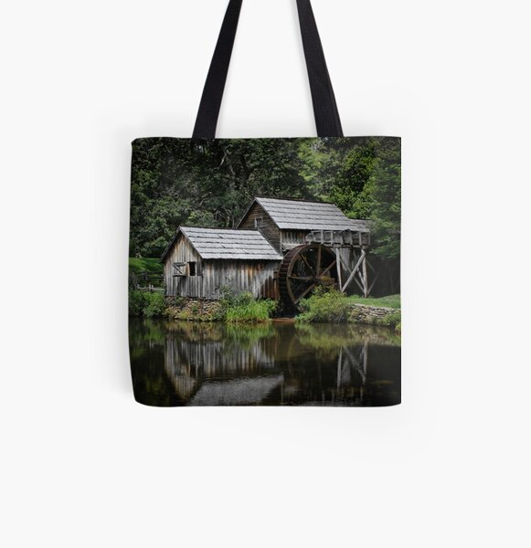 Mabry Mill All Over Print Tote Bag