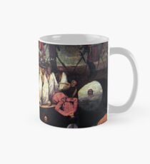 Medieval art of a tower of the dead - The triumph of Death Classic Mug