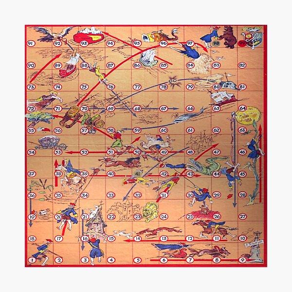 Board game Munchhausen - Настольная игра Мюнхгаузен Photographic Print