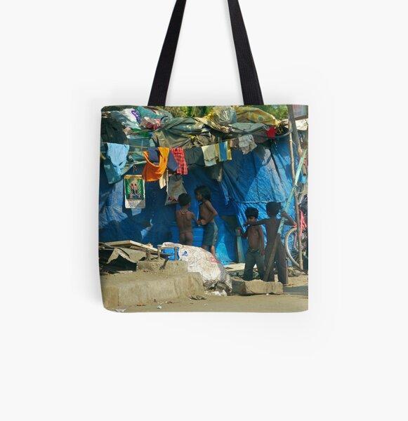 home life All Over Print Tote Bag