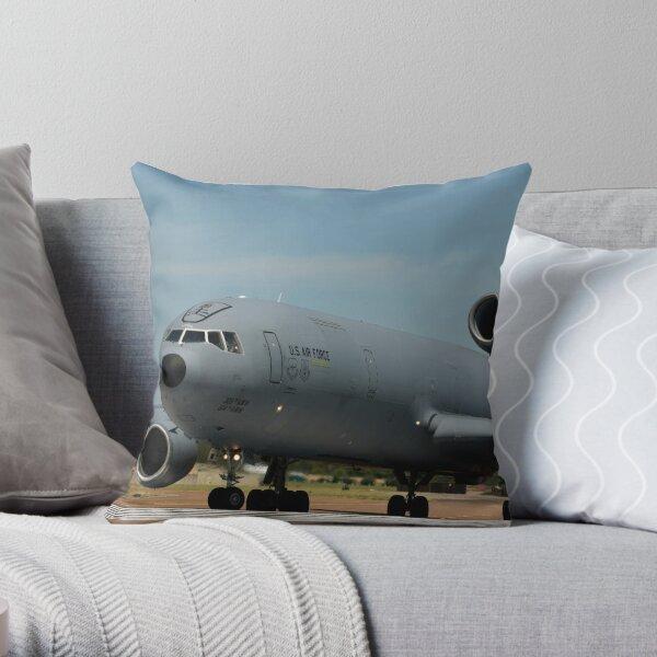 KC 10 Throw Pillow