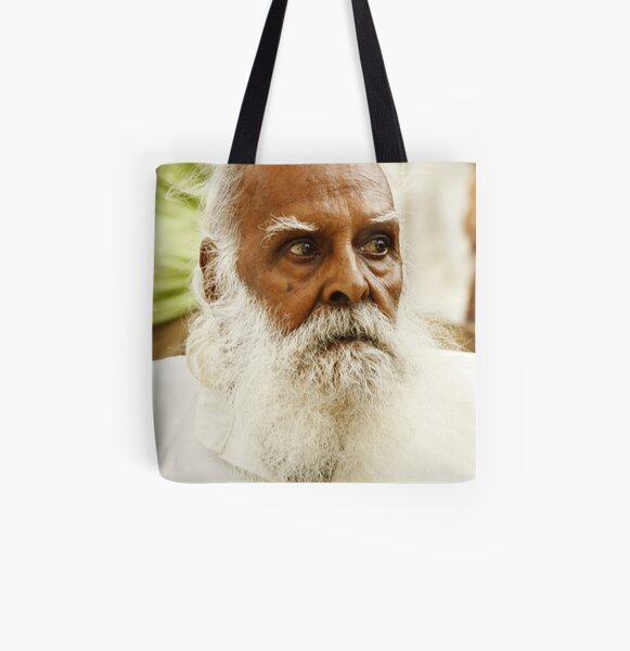 Old Furious, India All Over Print Tote Bag