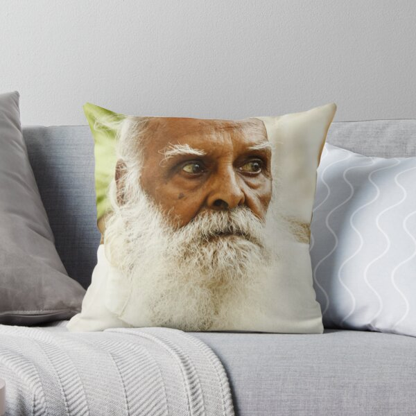 Old Furious, India Throw Pillow