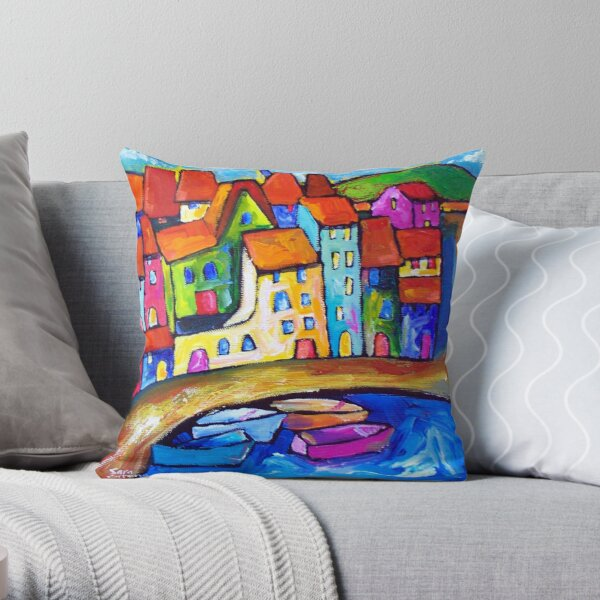 CADAQUES , SPAIN  Throw Pillow
