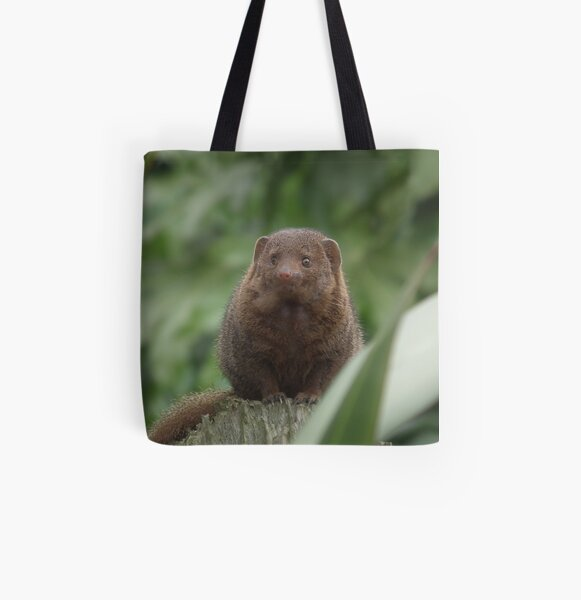 Dwarf Mongoose All Over Print Tote Bag