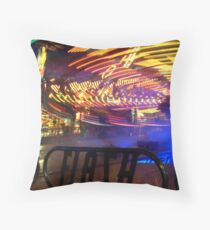 Flashed by in a blur Throw Pillow