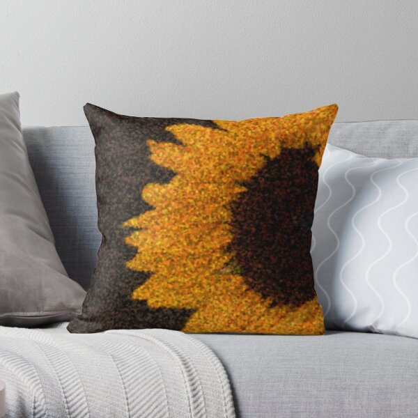sun.flower Throw Pillow