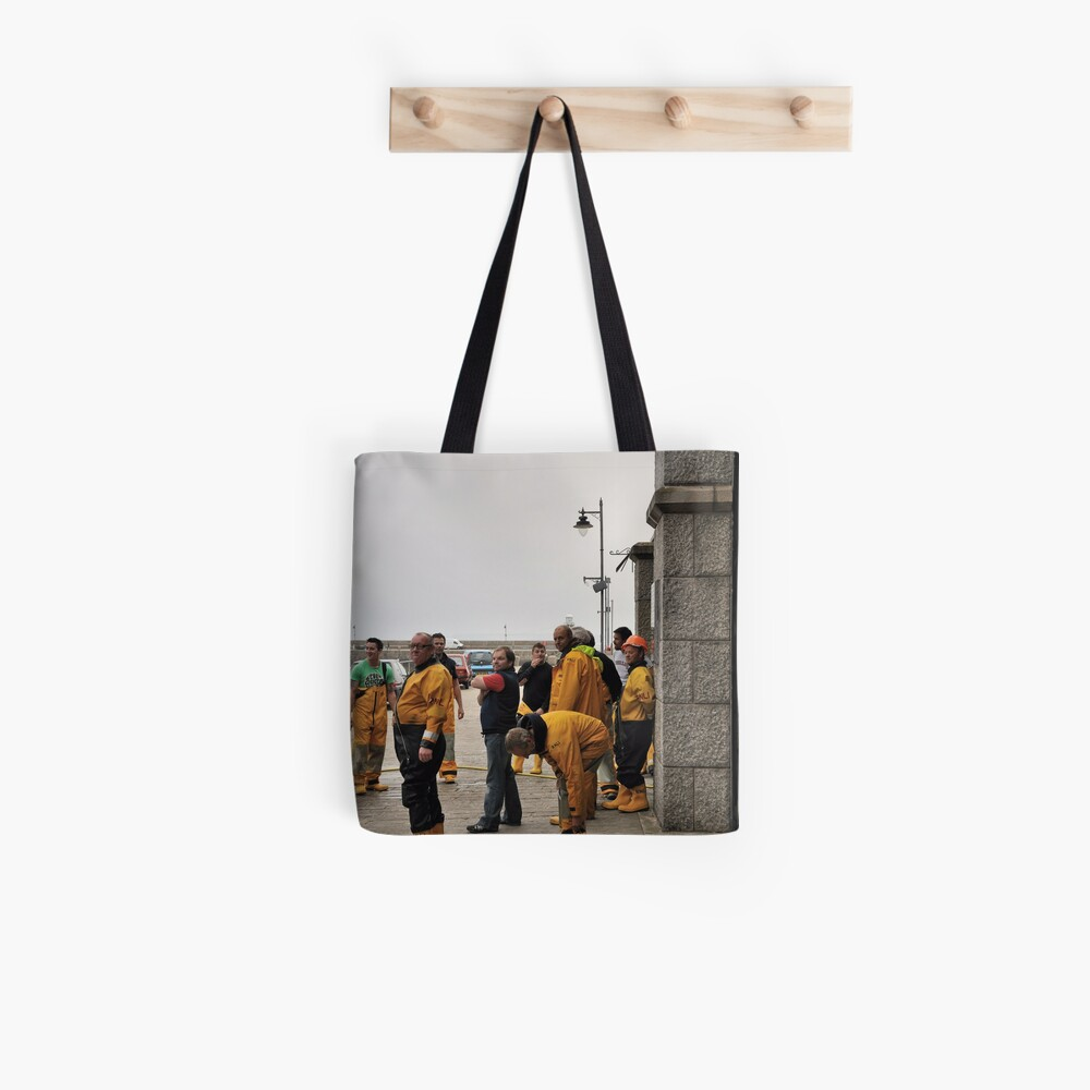 Lifeboat Crew Tote Bag