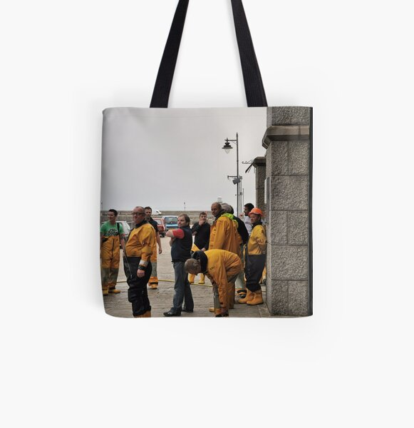 Lifeboat Crew All Over Print Tote Bag
