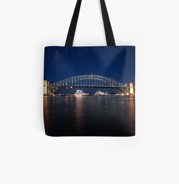 McMahons Point All Over Print Tote Bag