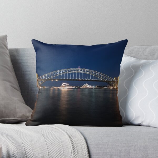 McMahons Point Throw Pillow