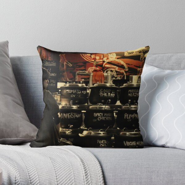 Melbourne's Laneways & Alleys 5 Throw Pillow