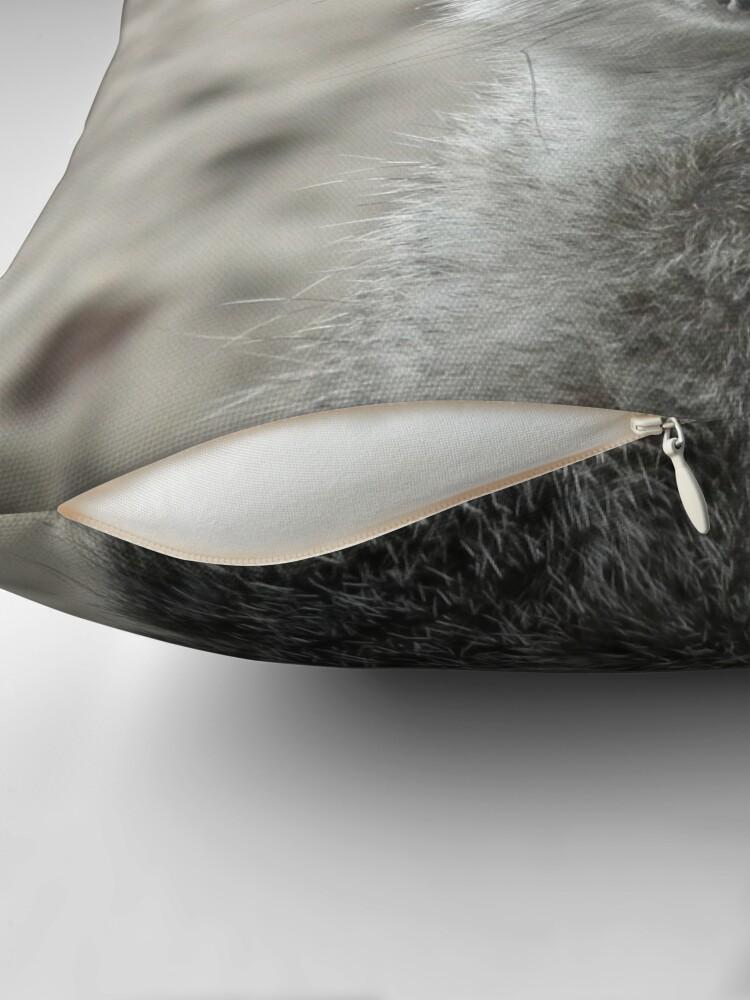 Alternate view of Meerkat 01 Throw Pillow