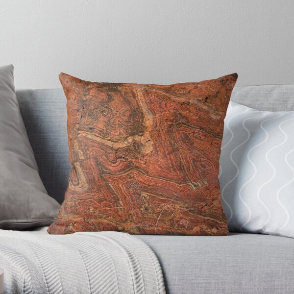 Jumping Jasper Throw Pillow
