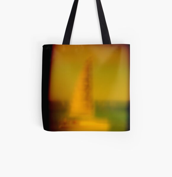Impressionist Postcard All Over Print Tote Bag