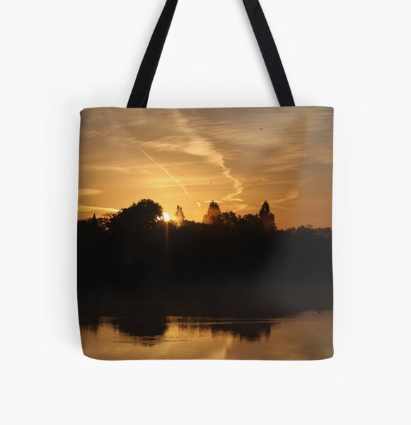 Sunset Calendar 07 All Over Print Tote Bag