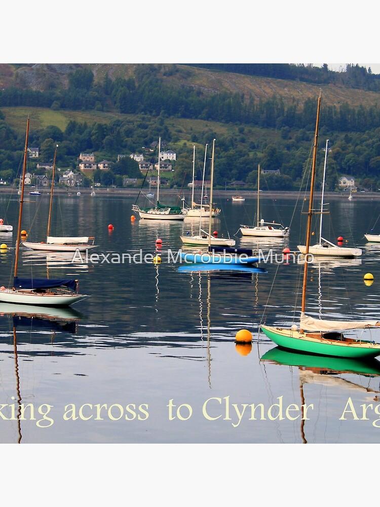 Looking towards Clynder Argyll by Alexanderargyll