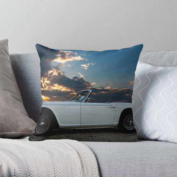 TR5 Sunset Throw Pillow