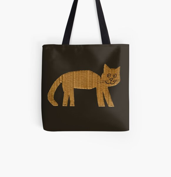 Simple cat All Over Print Tote Bag