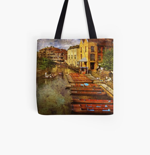Punting on the Cam All Over Print Tote Bag