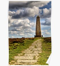 Captain Cooks Monument  Poster