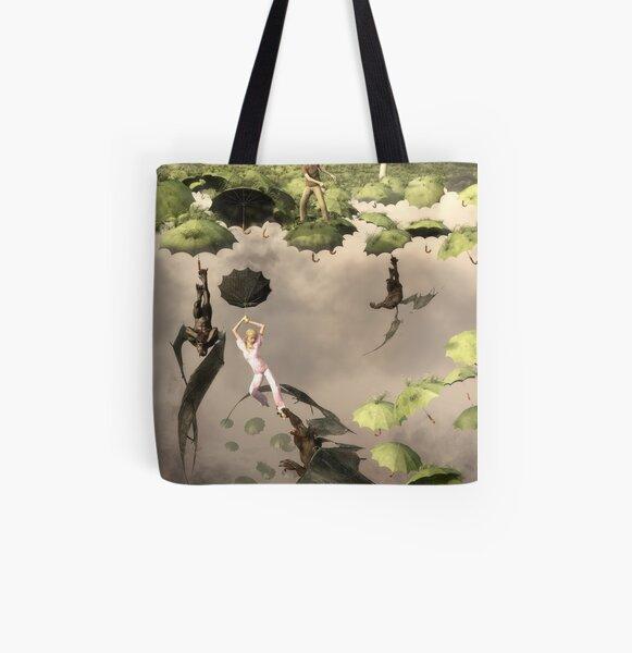 Umbra Mortis All Over Print Tote Bag