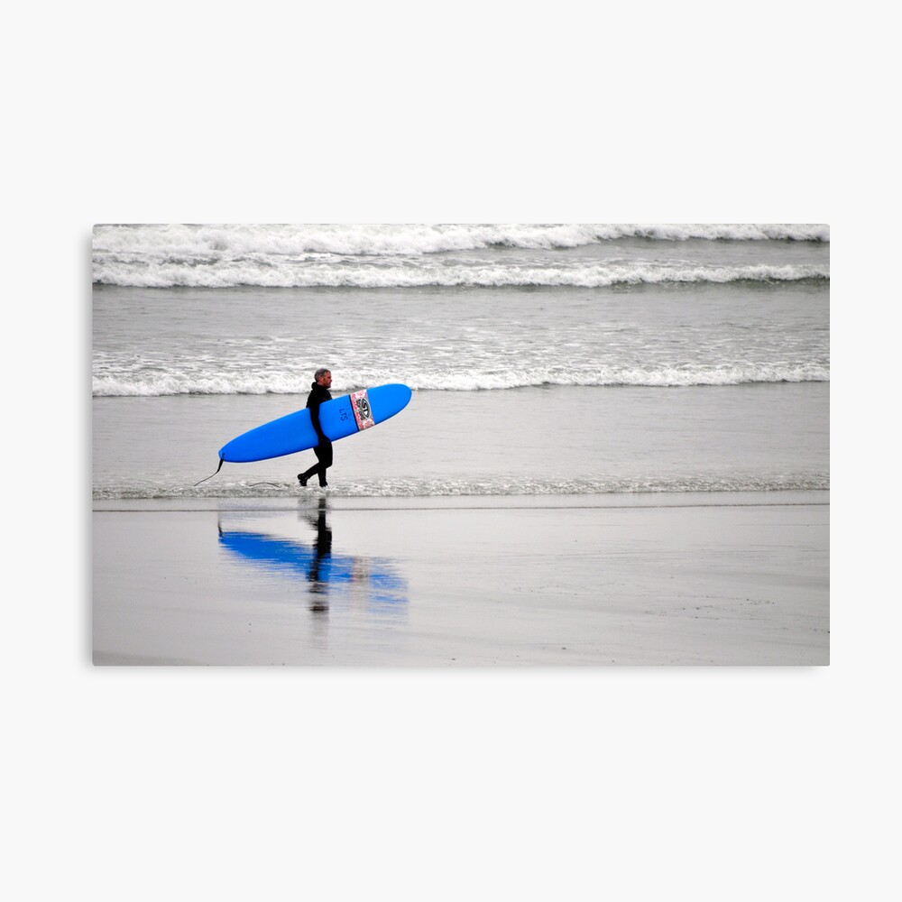 Surfing Reflections Canvas Print