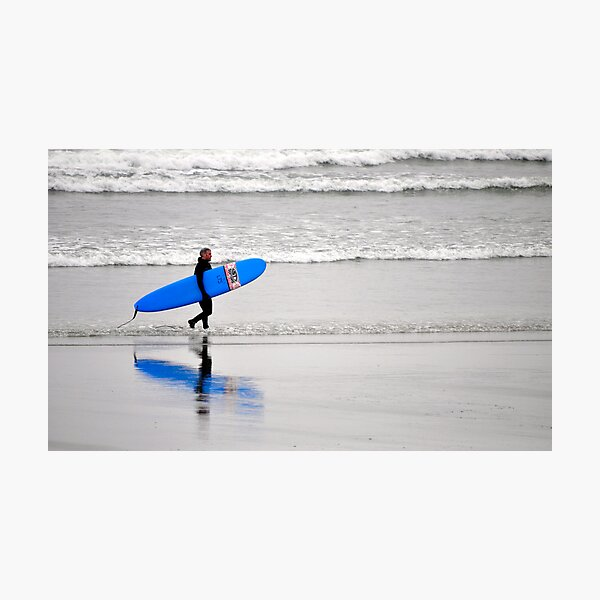 Surfing Reflections Photographic Print