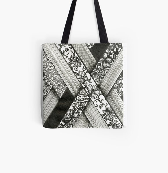 Crossing Paths All Over Print Tote Bag