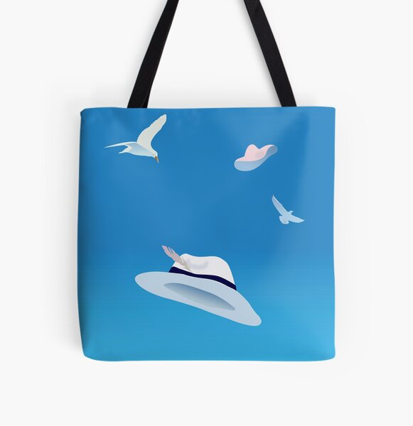 summer hats All Over Print Tote Bag