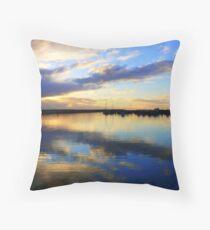 Two Rocks Marina   Western Australia Throw Pillow