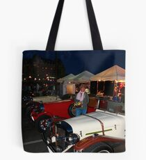 Old automobiles Tote Bag