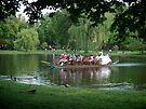 Swan Boat at the Boston Public Gardens - © 2010  by Jack McCabe