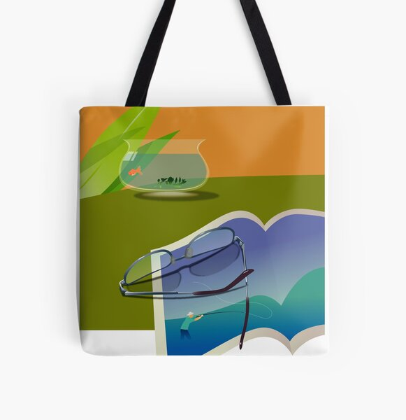 Afternoon All Over Print Tote Bag