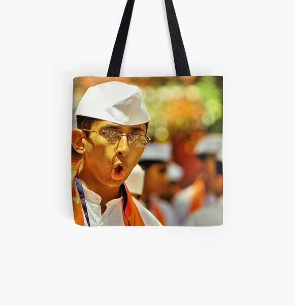 Ganapati Bappa...M O R Y A A All Over Print Tote Bag