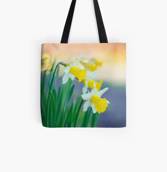 Daffodil Day... All Over Print Tote Bag