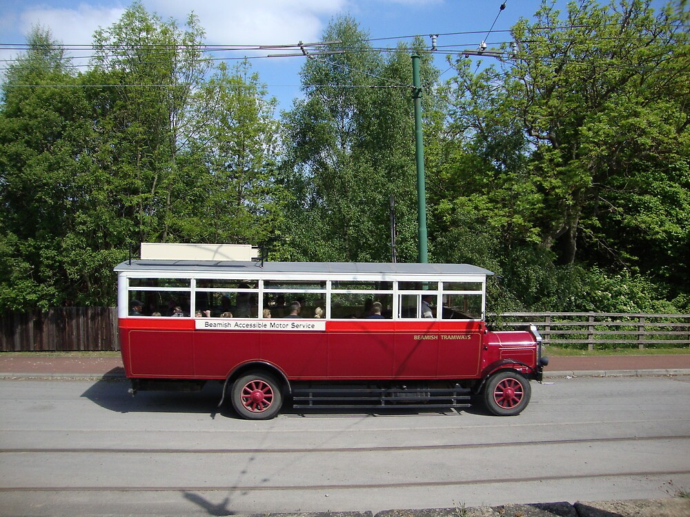 The Beamish Bus by GEORGE SANDERSON