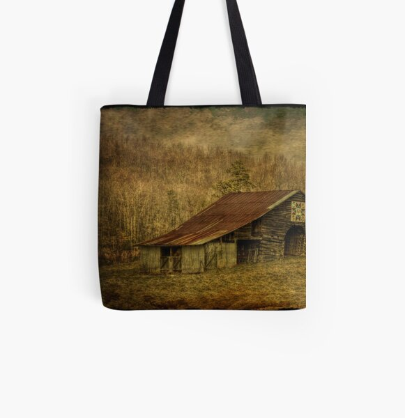 Slightly Out of Kilter All Over Print Tote Bag