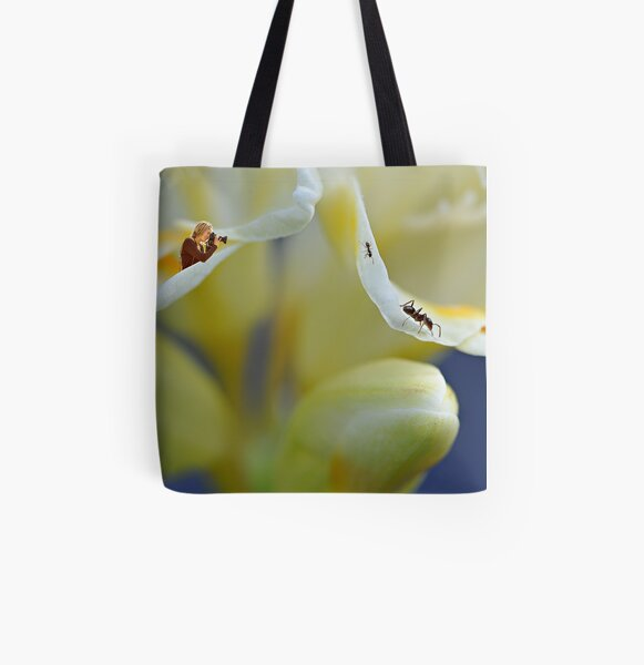 The Intrepid Photographer All Over Print Tote Bag