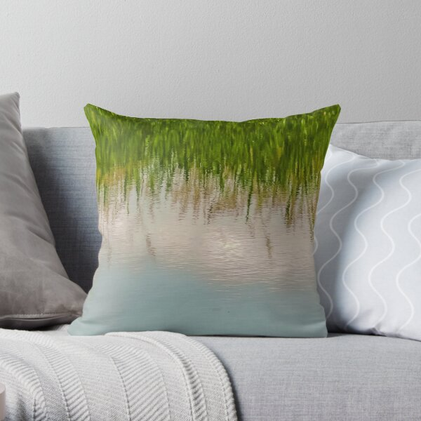 Upside Down or Not? Throw Pillow